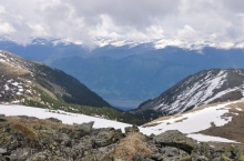 Хребет Алтын-Туу в Горном Алтае