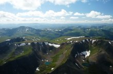 Хребет Тонгош в Горном Алтае