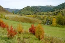 Чергинский хребет в Горном Алтае