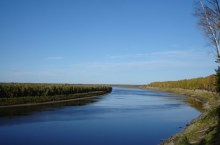 Река Васюган в Томской области