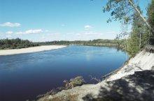 Река Кеть в Томской области