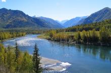 Река Кокса в Горном Алтае.
