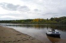 Река Тым в Томской области