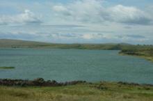 Озеро Сосновое в Хакасии