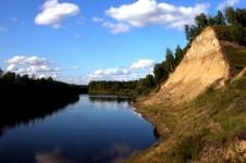Река Чая в Томской области