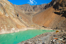 Голубое озеро в окрестностях Актру