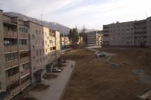 Поселок городского типа Черёмушки в Хакасии