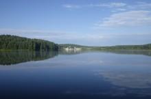 Урское озеро в Кемеровской области