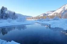 Голубые озера Аската