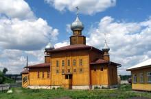 Село  Залесово в Алтайском крае