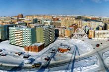 Город Дудинка в Красноярском крае