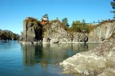 Священный остров в Чемальском районе