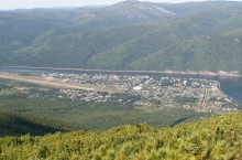 Поселок Мама в Иркутской области