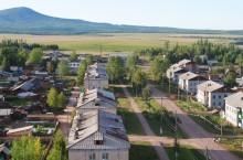 Село Ербогачён в Иркутской области