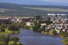 Город Нижнеудинск в Иркутской области