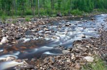 Мраморный ручей в Горной Шории