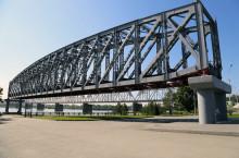 Первый железнодорожный мост Новосибирска
