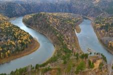 Река Мана в Красноярском крае