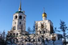 Спасская церковь в Иркутске