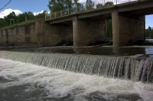 Река Суенга — красивая река на которой есть золото.