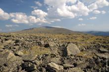 Гора Сарлык в Горном Алтае