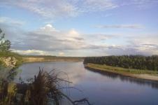 Река Сым в Красноярском крае