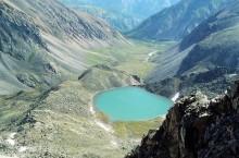Ледниковое Озеро Эхой в Бурятии