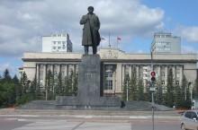 Памятник В. И. Ленину в Красноярске
