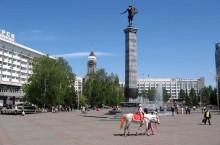 Скульптура «Аполлон» в Красноярске