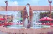 Фонтан «Детство» в Красноярске