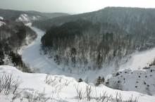 Бердские скалы в Искитимксом районе