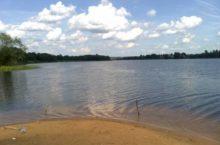 Хомутиное озеро в Бурлинском районе