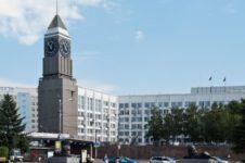 Сквер перед зданием городской администрации г. Красноярска