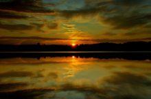 Озеро Уйнак в Бурлинском районе