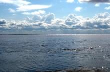 Уникальное Кулундинское озеро.