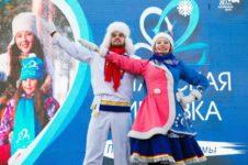 В туркомплексе «Бирюзовая Катунь» состоялся праздник «Алтайская зимовка»