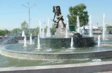 Фонтан «Похищение Европы» в Красноярске