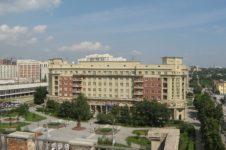 Музей искусств в центре Новосибирска