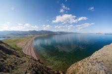 Курминский залив на Байкале