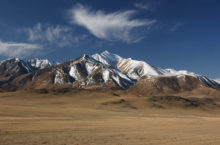 Горный массив Монгун-Тайга