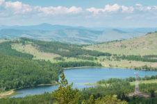 Озеро Баланкуль в Хакасии