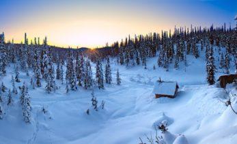 Проведена оценка запасов снега в горах Кузнецкого Алатау