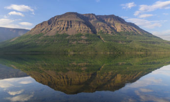 Шайтан-гора на плато Путорана. Место силы