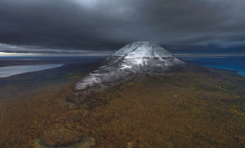 Древнейшая пирамида на плато Путорана
