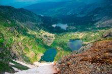 Каракольские озёра в Горном Алтае