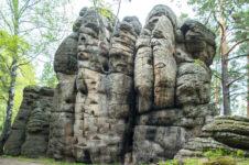 Скала «4 брата» в Белокурихе. Шедевры природы